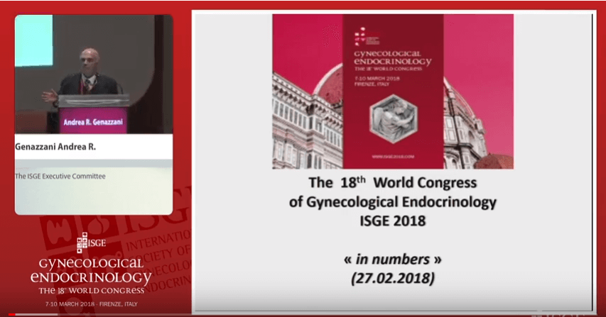 The 18 World Congress of Gynecological Endocrinology in numbers