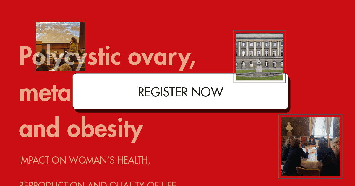 ISGRE course: Polycystic ovary syndrome, metabolic syndrome and obesity – Bruxelles 25/26 November 2019