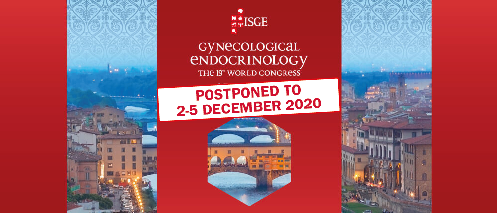 *UPDATE COVID-19* ISGE 2020 Congress postponed to December 2-5 2020