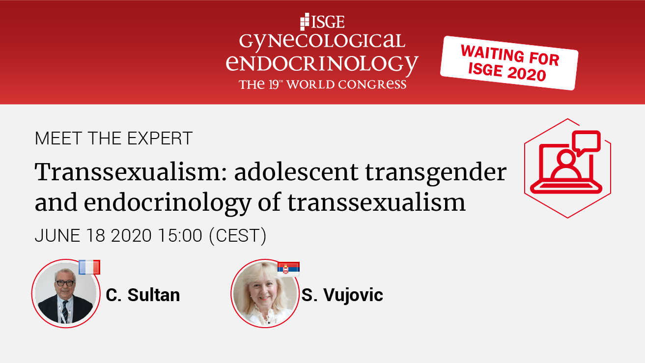 Transsexualism: adolescent transgender and endocrinology of transsexualism