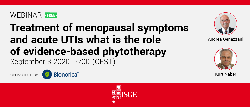 Treatment of menopausal symptoms  and acute UTIs what is the role  of evidence-based phytotherapy